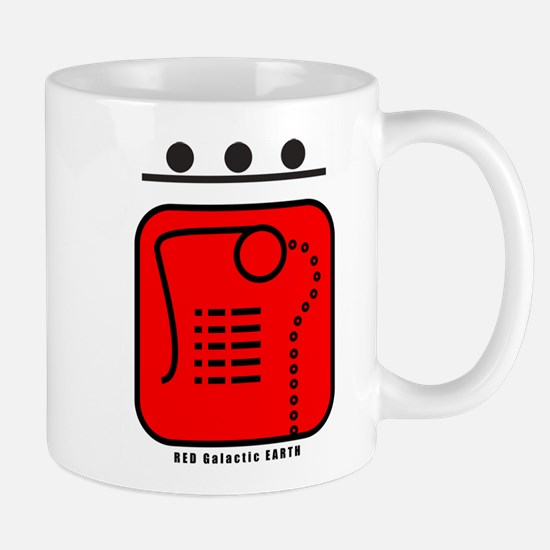 RED Galactic EARTH Mug