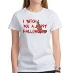 I Witch You A Happy Halloween Women's T-Shirt