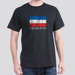 Yugoslavia Flag Dark T-Shirt