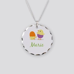 Easter Chick Marie Necklace