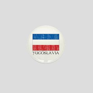 Yugoslavia Flag Mini Button