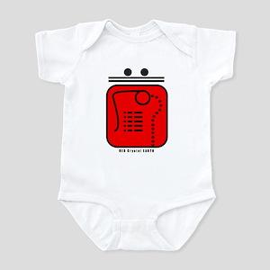 RED Crystal EARTH Infant Bodysuit