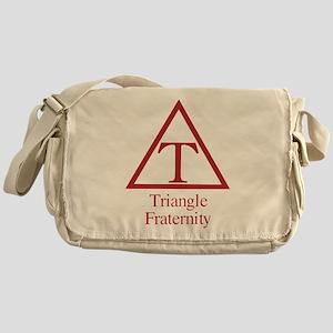 Triangle Fraternity Messenger Bag