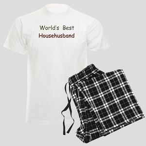 Worlds Best Househusband Men's Light Pajamas