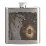Jesus Christ Son Of God art illustration Flask