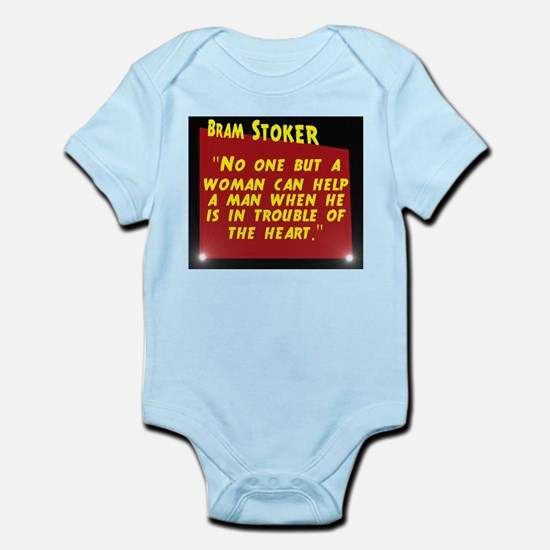 No One But A Woman - Bram Stoker Infant Bodysuit