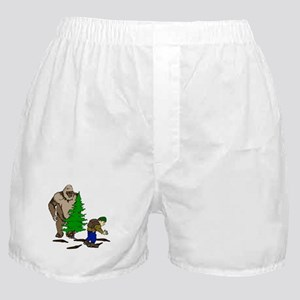 Looking for the Squatch Boxer Shorts