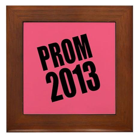 Prom 2013 Framed Tile