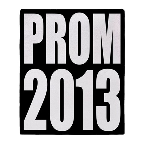 Prom 2013 Throw Blanket