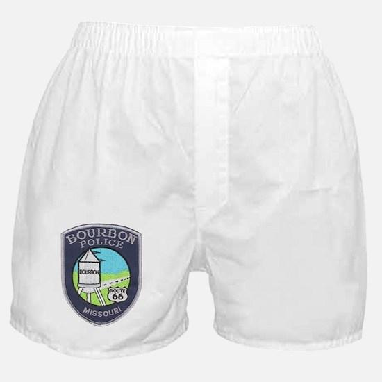 Bourbon Police Boxer Shorts