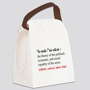 Feminism Canvas Lunch Bag