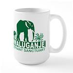 Mwaluganje Elephant Sanctuary logo Mug
