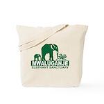 Mwaluganje Elephant Sanctuary logo Tote Bag