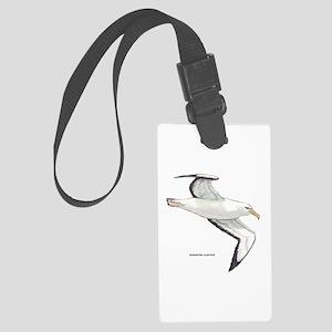 Wandering Albatross Bird Large Luggage Tag