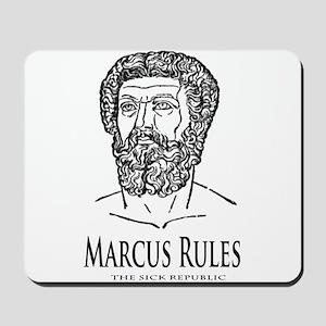 Marcus Rules the Sick Republic Mousepad