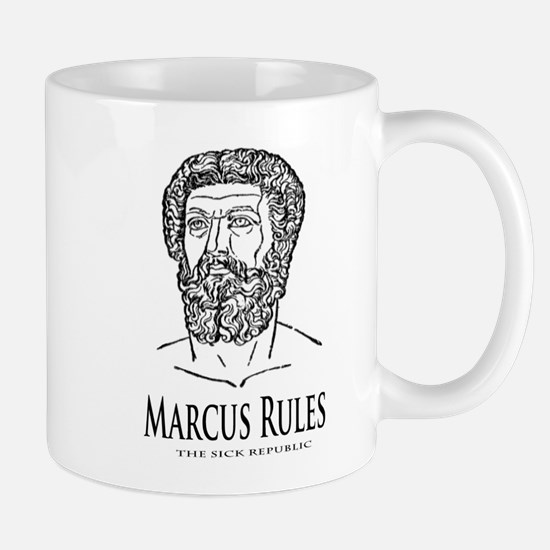 Marcus Rules the Sick Republic Mug