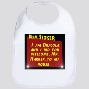 I Am Dracula - Bram Stoker Cotton Baby Bib