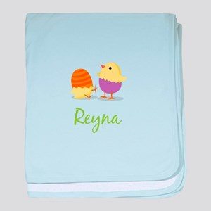 Easter Chick Reyna baby blanket