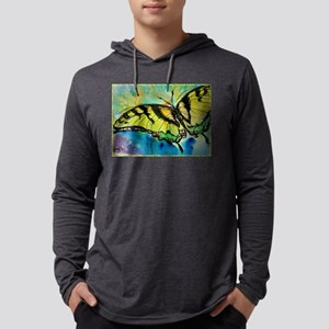 Butterfly! Swallowtail butterfly, art! Mens Hooded