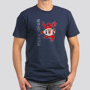 Scotland style rugby player brave graphic T-Shirt