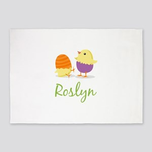 Easter Chick Roslyn 5'x7'Area Rug
