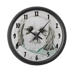Shih Tzu Large Wall Clock