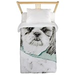Shih Tzu Twin Duvet Cover