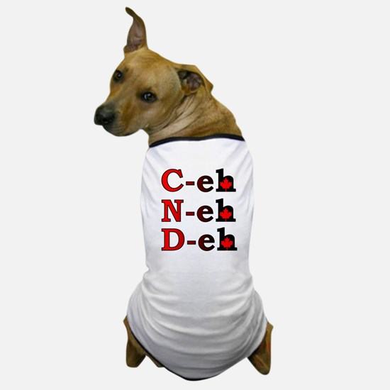 Canada Eh! Funny Canadian Dog T-Shirt