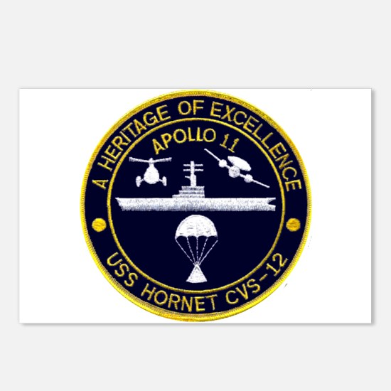 USS Hornet Apollo 11 Postcards (Package of 8)