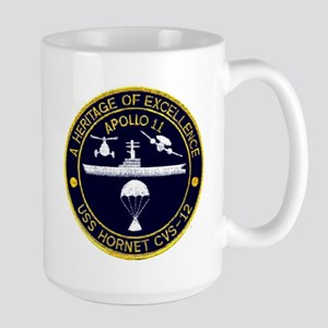 Uss Hornet Apollo 11 Large Mug Mugs