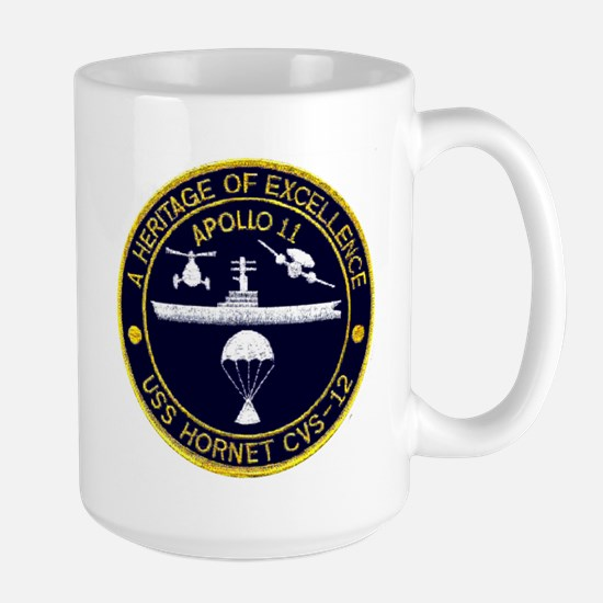 Uss Hornet Apollo 11 Large Mug Mugs