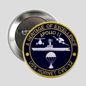 """USS Hornet Apollo 11 2.25"""" Button"""