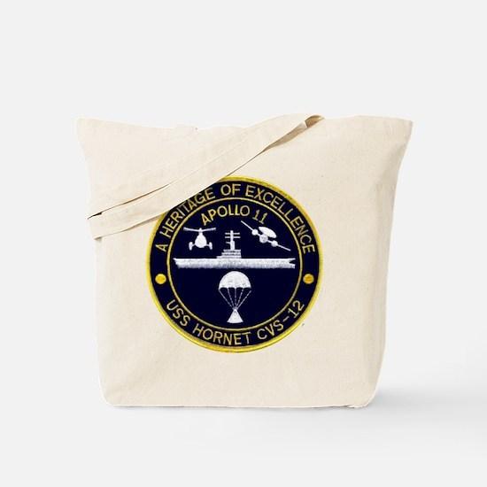 Uss Hornet Apollo 11 Tote Bag