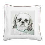 Shih Tzu Square Canvas Pillow