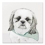 Shih Tzu Square Car Magnet 3