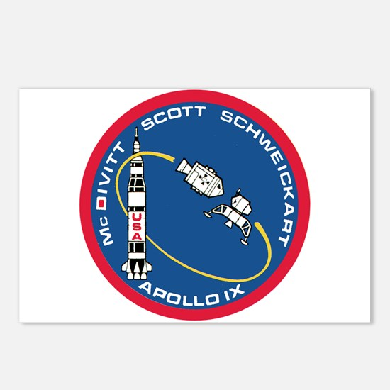 Apollo 9 Postcards (Package of 8)