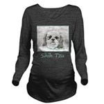 Shih Tzu Long Sleeve Maternity T-Shirt