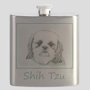 Shih Tzu Flask