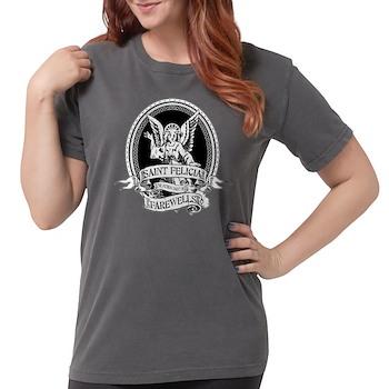 Saint Felicia Womens Comfort Colors Shirt
