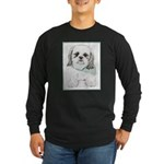 Shih Tzu Long Sleeve Dark T-Shirt