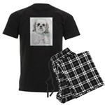 Shih Tzu Men's Dark Pajamas