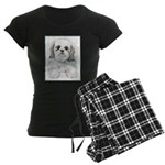 Shih Tzu Women's Dark Pajamas