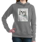 Shih Tzu Women's Hooded Sweatshirt