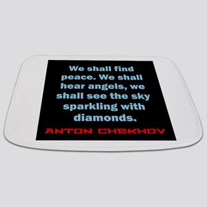We Shall Find Peace - Anton Chekhov Bathmat