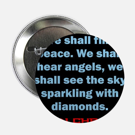"""We Shall Find Peace - Anton Chekhov 2.25"""" Button"""