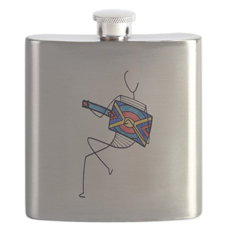 The Guitarist Flask