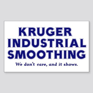 Kruger Industrial Smoothing Rectangle Sticker