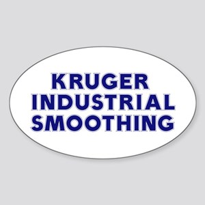 Kruger Industrial Smoothing Oval Sticker