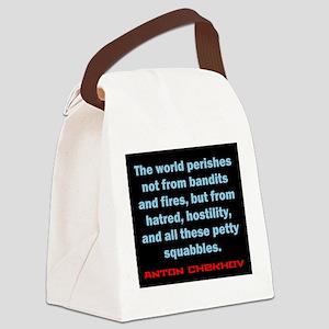 The World Perishes - Anton Chekhov Canvas Lunch Ba