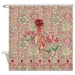 Gypsy Girl Shower Curtain